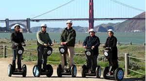 Explore San Francisco de segway!