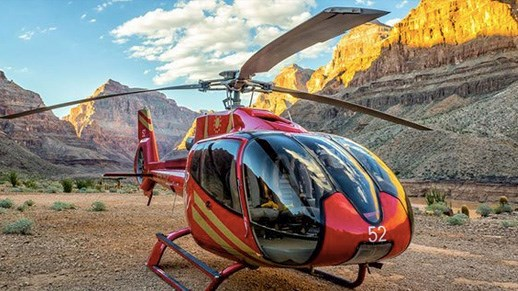 Tour de helicóptero por Las Vegas Strip e Grand Canyon!
