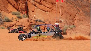 ¡Descubre el Valley of Fire State Park con un buggy todoterreno!