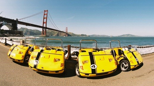 ¡Conoce el Golden Gate Bridge en GoCar!